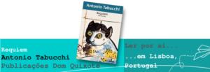 Ler por aí... em Lisboa: Requiem, de Antonio Tabucchi