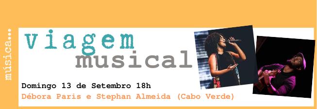 Viagem Musical: Débora Paris e Stephan Almeida